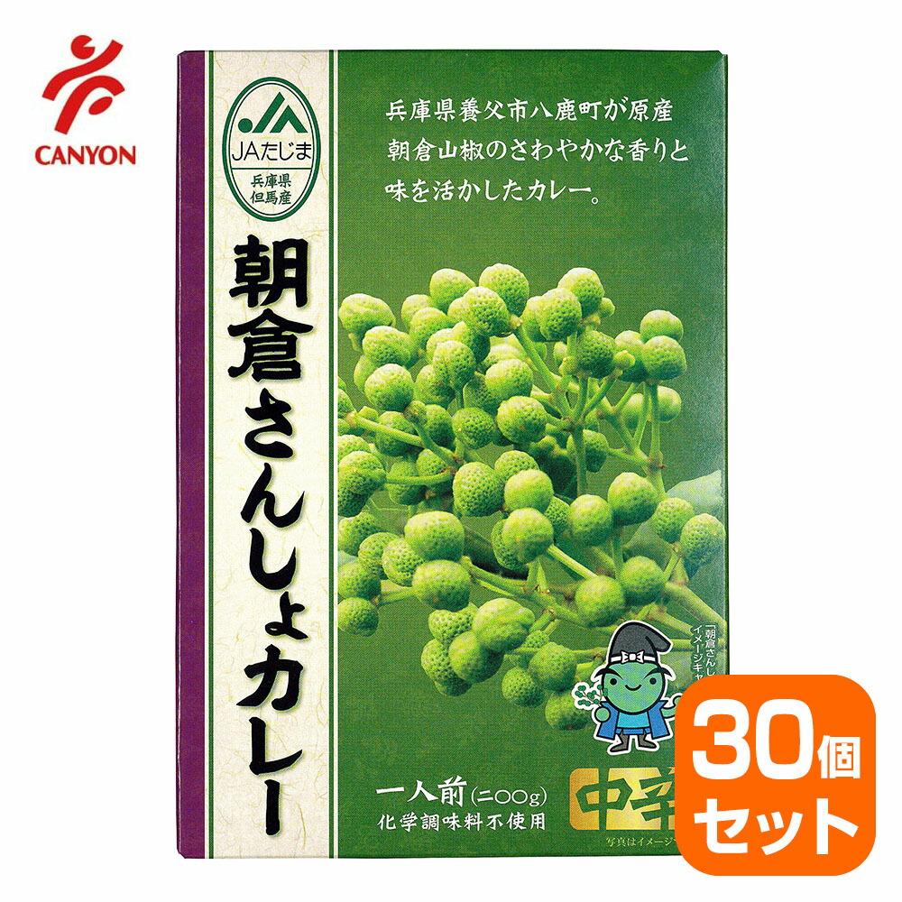 【30個セット】朝倉さんしょカレー 200g 中辛