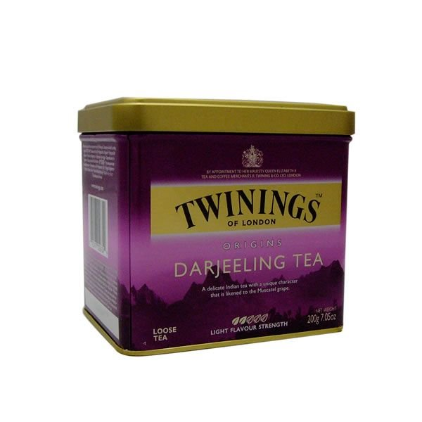 【12個セット】トワイニング紅茶(TWININGS) ダージリン(DARJEELING)リーフティ 200g×12