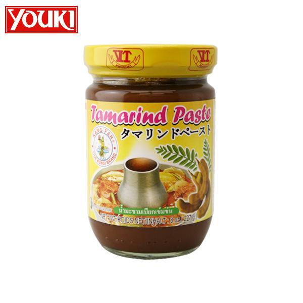 エスニック料理には欠かせないタマリンドペーストです youki 通常便なら送料無料 tamarind 定番 タマリンドペースト paste 227g