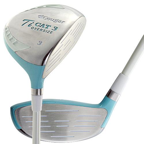 クーガー レディース TI-CAT-3-G フェアウェイウッド 3番【ブルー】【ゴルフ】