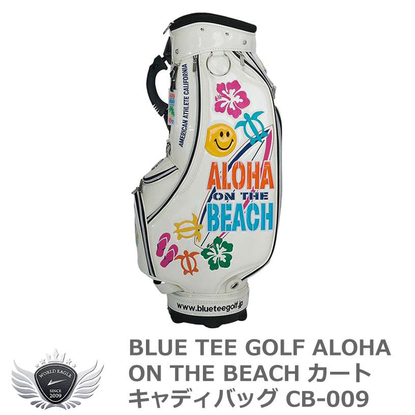 BLUE TEE GOLF ブルーティーゴルフ ALOHA ON THE BEACH カートキャディバッグ CB-009