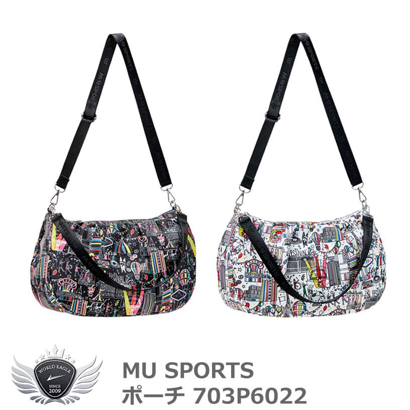 MU SPORTS エムユースポーツ ポーチ 703P6022