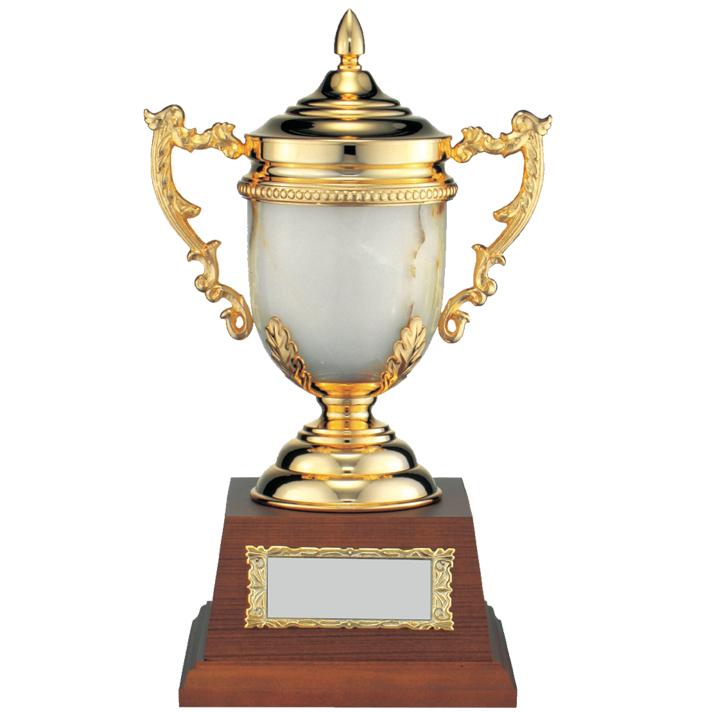優勝 トロフィー 即納最大半額 カップ 楯 コンペ用品 マーブルカップ 新作送料無料 D MC1302 松下徽章
