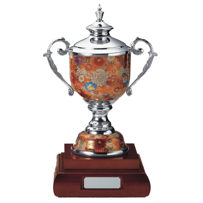 優勝 トロフィー カップ 楯 コンペ用品 松下徽章 ポタリーカップ ゴルフ PC.1615-A