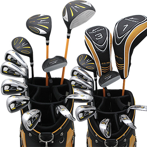 ワールドイーグル 5Z-BLACK + CBX007カードバッグ メンズゴルフクラブ14点フルセット 右用 【送料無料】【あす楽】