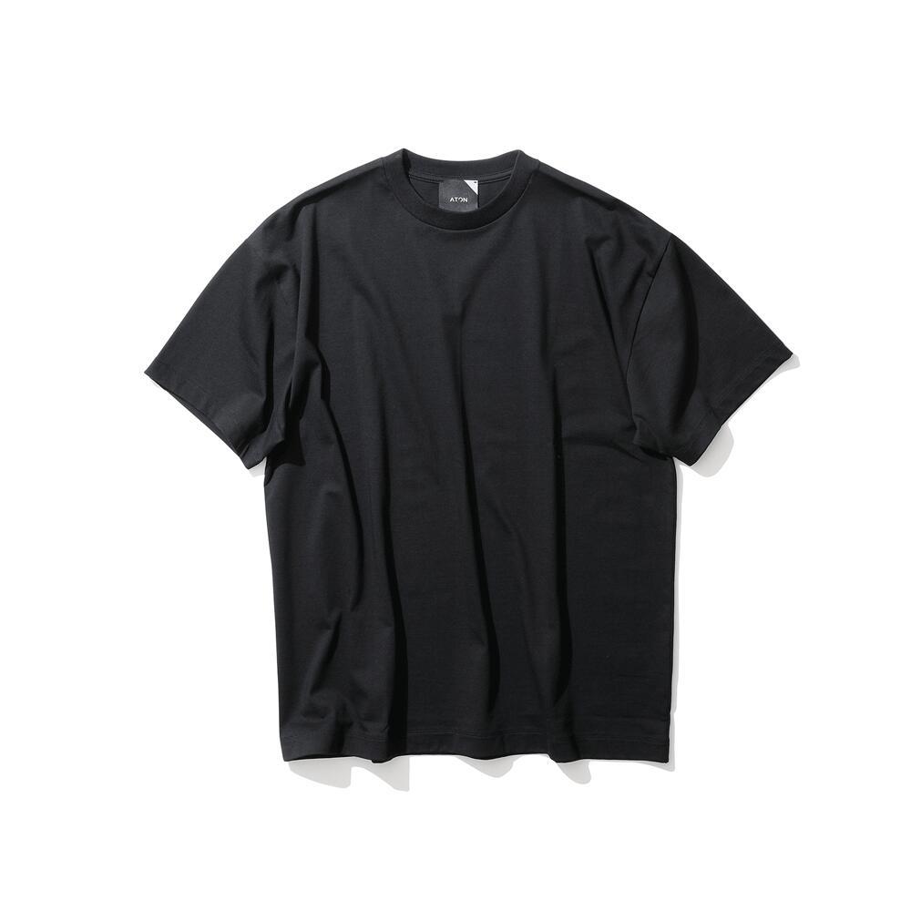 ATON/エイトンSUVIN AIR SPINNING / オーバーサイズTシャツ (UNISEX)(KKAGBM0102) 【カラー】WHITE BLACK