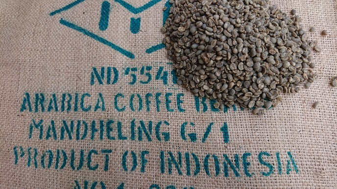 インドネシア マンデリン G-1  10kg     (コーヒー生豆)