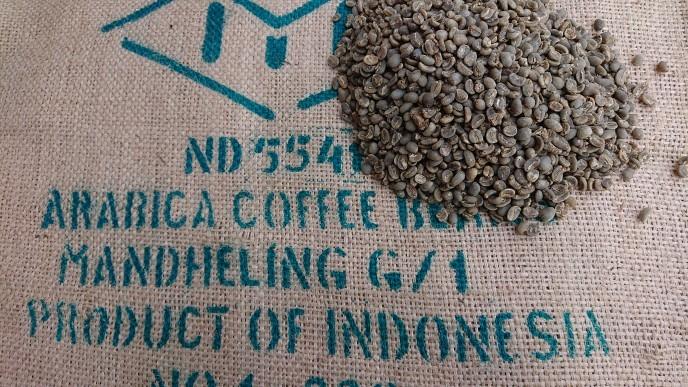 インドネシア マンデリン G-1  5kg     (コーヒー生豆)