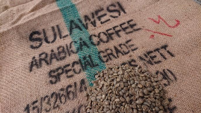 スラウェシ インドネシア 10kg (コーヒー生豆)    アラビカ