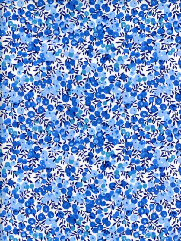 LIBERTY国産リバティカットクロス(Wilt Shire)ウィルトシャーワントーン・グラデーション3339009-J19D ブルー