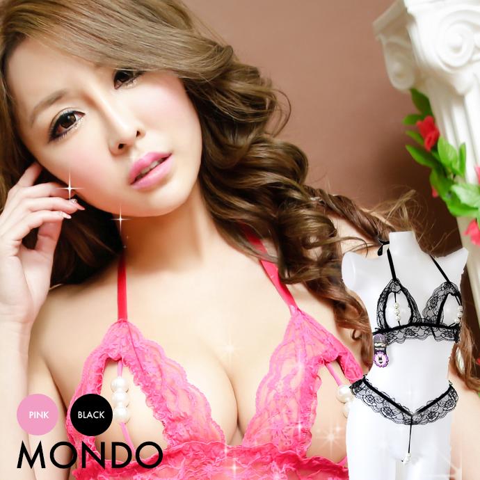 49efc9cf3 Large Pearl Erotic lingerie open Bra Panties set Pearl pleasure sexy  lingerie ...