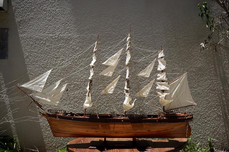帆船模型 カティーサーク号(中)