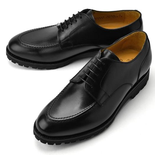バーウィック BERWICK Uチップ 4168 ブラック 【ドレスシューズ 革靴 ビジネスシューズ メンズ インポート】