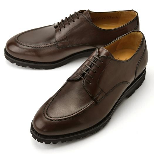 バーウィック BERWICK Uチップ 4168 ダークブラウン 【ドレスシューズ 革靴 ビジネス メンズ インポート】