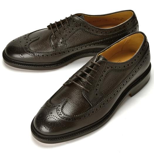 バーウィック BERWICK ウイングチップ 4794 ダークブラウン グレインレザー【ドレスシューズ 革靴 ビジネスシューズ メンズ インポート】