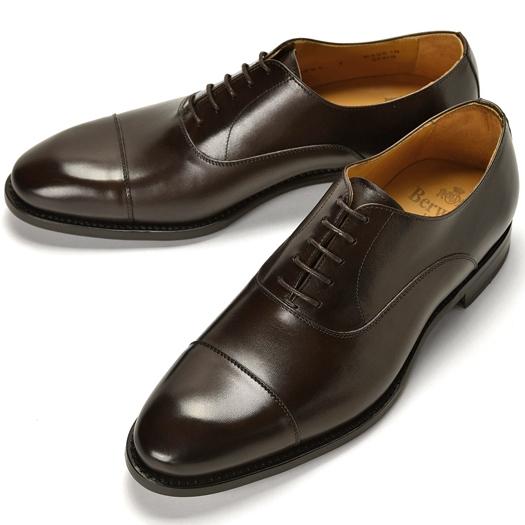 バーウィック BERWICK ストレートチップ 4087 VEGANO MOKA チャコールブラウン【ドレスシューズ 革靴 ビジネスシューズ メンズ インポート】