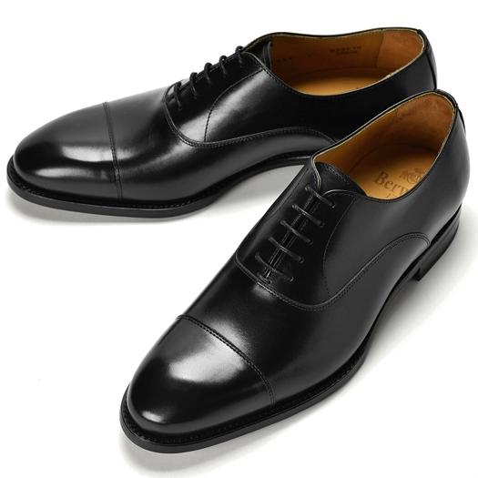 バーウィック BERWICK ストレートチップ 4087 ブラック【ドレスシューズ 革靴 ビジネスシューズ メンズ インポート】