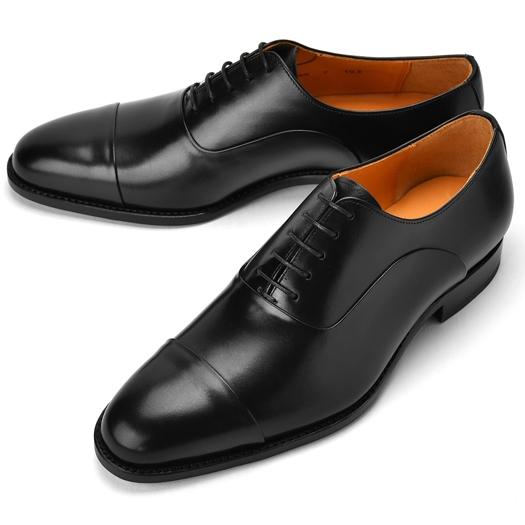 コードウェイナー CORDWAINER ストレートチップ ASIER ブラック【ドレスシューズ 革靴 ビジネスシューズ メンズ インポート】