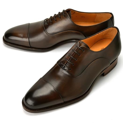 コードウェイナー CORDWAINER ストレートチップ ASIER ダークブラウン 【ドレスシューズ 革靴 ビジネスシューズ メンズ インポート】