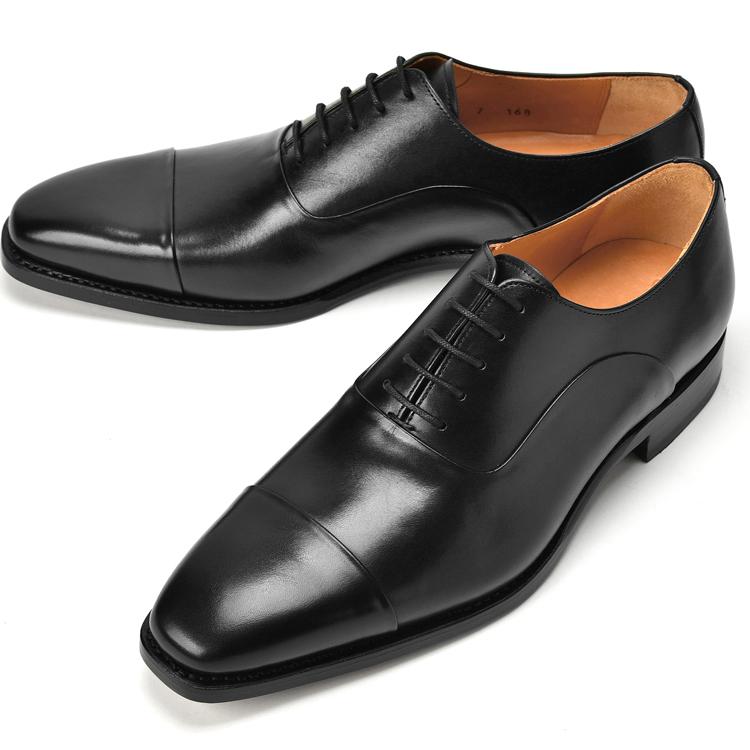 コードウェイナー CORDWAINER ストレートチップ ASIER-LAST168 ブラック 2019秋冬【ドレスシューズ 革靴 ビジネス メンズ インポート】