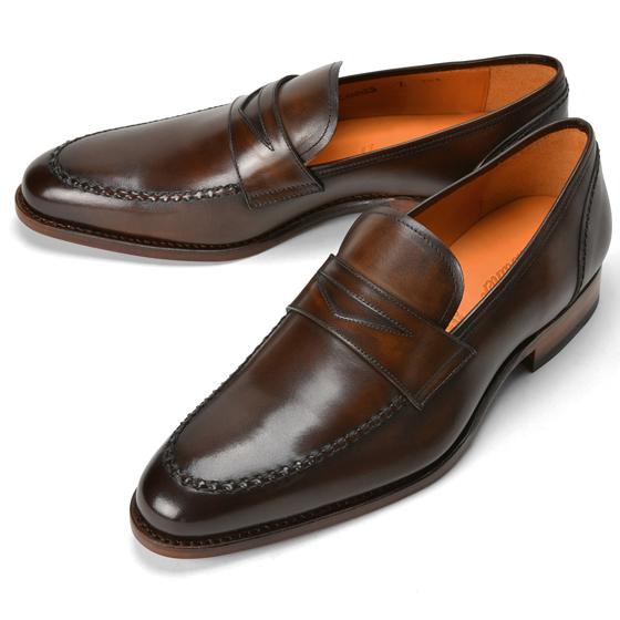 コードウェイナー CORDWAINER ローファー CANNES ダークブラウン【ドレスシューズ 革靴 ビジネスシューズ メンズ インポート】