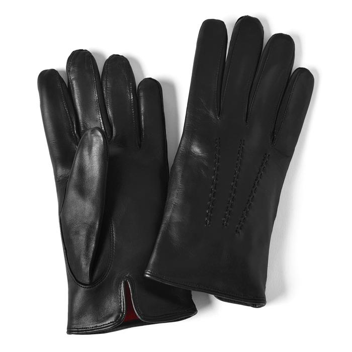 グローブス GLOVES 手袋 レザー ブラック CA060【ネコポス対応】【本革 グローブ メンズ】