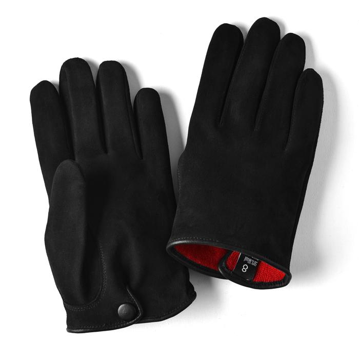 【クリアランス】グローブス GLOVES 手袋 スエード ブラック【本革 グローブ メンズ】