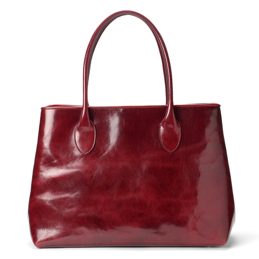 cee6c9eaeb47 mongrandpere: Peroni PERONI FIRENZE leather tote bag dark red ...