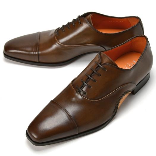 【スーパーSALE】【通常39,960円】PERTINI ペルティニ オパンケ ストレートチップ 22770 ブラウン 【ドレスシューズ 革靴 ビジネスシューズ メンズ インポート】