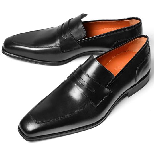PERTINI ペルティニ メンズ ローファー 22059 ブラック【ドレスシューズ 革靴 ビジネスシューズ メンズ インポート】