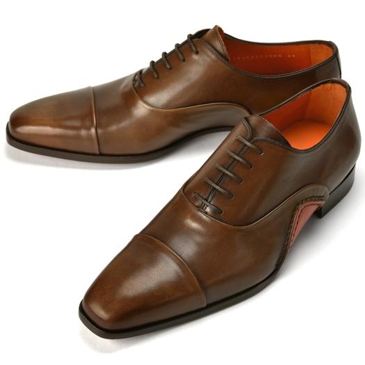 PERTINI ペルティニ オパンケ ストレートチップ 192M22770 ブラウン【ドレスシューズ 革靴 ビジネス メンズ インポート】