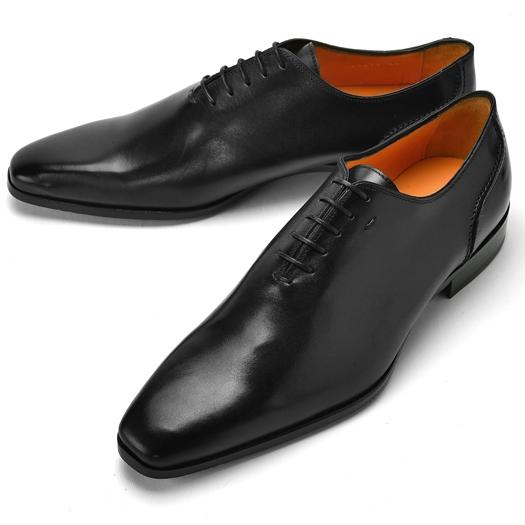 PERTINI ペルティニ ホールカット 23879 ブラック 【ドレスシューズ 革靴 ビジネス メンズ インポート】