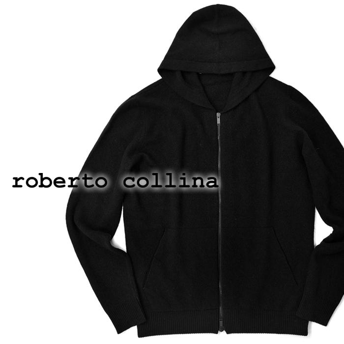 【クリアランス】ロベルトコリーナ roberto collina ニット Vネック 42002 リネン混 ベージュ メランジェ 春夏