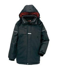アイトス 防寒コート ブラック