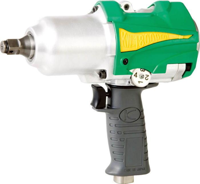 空研(KUKEN) 産業用N型エアーインパクトレンチ 12.7mm角 KW-1800proI
