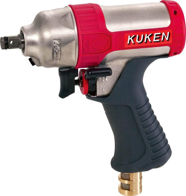 空研(KUKEN) 小型エアーインパクトレンチ 9.5mm角 KW-7P