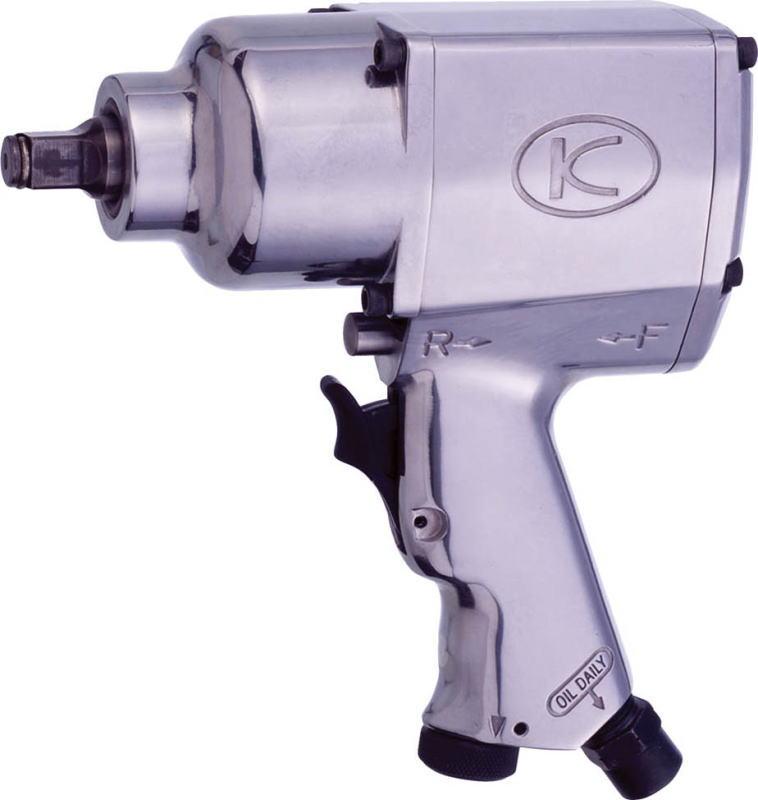 空研(KUKEN) 中型エアーインパクトレンチ 12.7mm角 KW-19HP