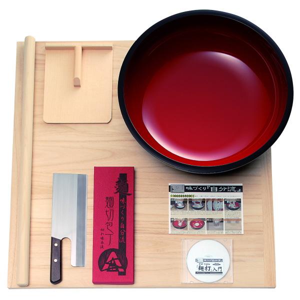 普及型麺打ちセット(大)・DVD付き