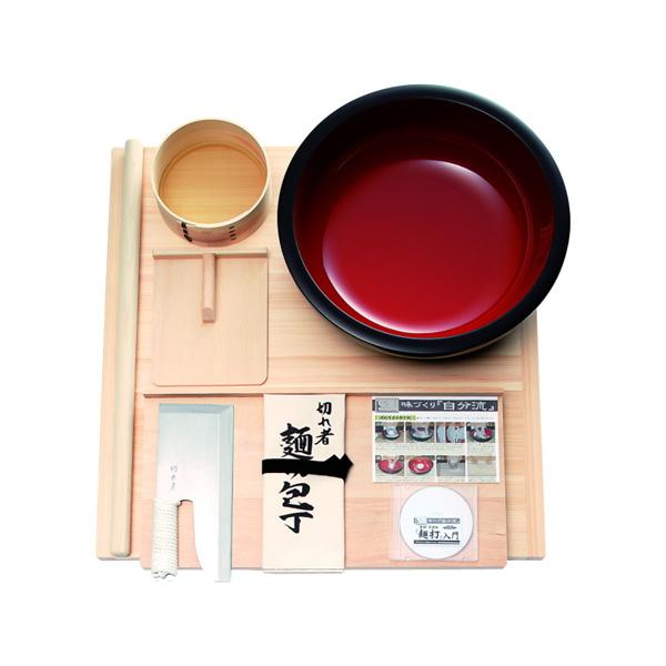 麺打ちセット 雅(そば・うどんDVD付き)