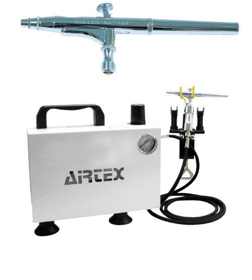 エアテックス ボックス型コンプレッサー エアーセット エアーブラ:MJ728 ホワイト