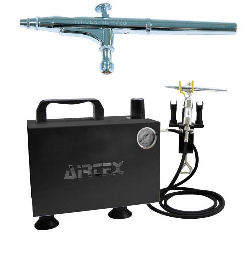 エアテックス ボックス型コンプレッサー エアーセット エアーブラ:MJ728 ブラック