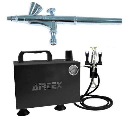 エアテックス ボックス型コンプレッサー エアーセット エアーブラ:MJ722 ブラック