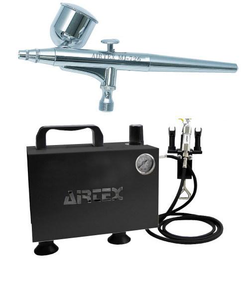 エアテックス ボックス型コンプレッサー エアーセット エアーブラ:MJ726 ブラック