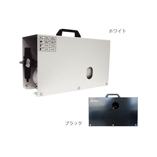 エアテックス サイレントエアーコンプレッサー ブラック