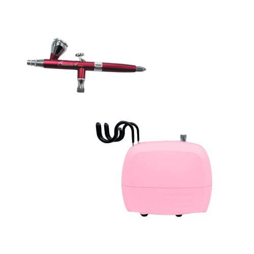 エアテックス エアーコンプレッサー minimoビューティセット ピンク×パッション