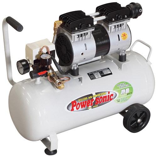 オイルレス静音コンプレッサー タンク容量:30L