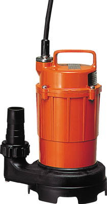 寺田ポンプ製作所 小型汚水用水中ポンプ 非自動運転形 単相100V 50Hz 吐出量:80、全揚程:5m、口径:32mm