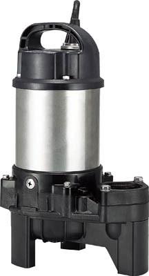 鶴見製作所 汚物用水中ハイスピンポンプ バンクスシリーズPU型 非自動運転形 三相200V 50Hz 吐出量:100、全揚程:3.5m、口径:40mm