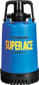 寺田ポンプ製作所 土砂混入水用水中ポンプ スーパーエース 非自動運転形 単相100V 60Hz 吐出量:100、全揚程:5.5m、口径:40mm