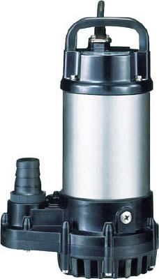 鶴見製作所 汚水用水中ポンプ 非自動運転形 単相100V 50Hz 吐出量:100、全揚程:4.0m、口径:32mm